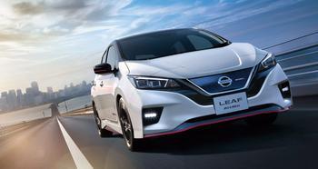 Nissan Leaf Nismo 2018 – условно спортивный электрокар Ниссан Лиф Нисмо
