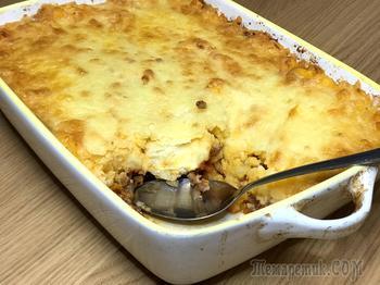 Shepherd's Pie - пастуший пирог без теста! Картофельная запеканка с фаршем и овощами