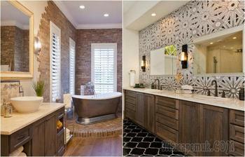 20 вариантов ванных комнат, которые обязательно нужно взять на заметку тем, кто планирует ремонт