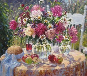 Польская художница Барбара Яскиевич-Сочевич (Barbara Jaskiewicz-Socewicz)