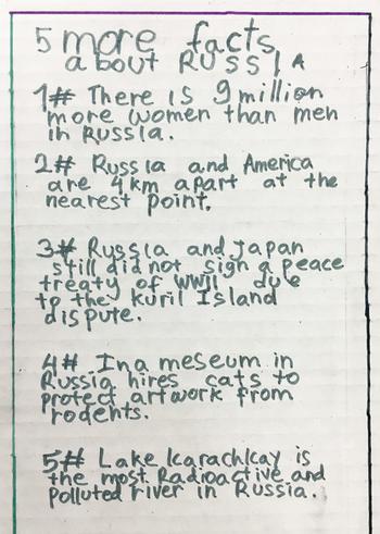 Какой видят Россию американские школьники «Россия больше, чем Плутон!» и другие факты
