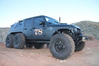 Паровоз Jeep Wrangler, истинный паропанк