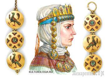 Какими были древнерусские женские головные уборы с рясами и колтами