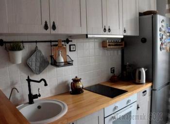 Компактная и уютная кухня