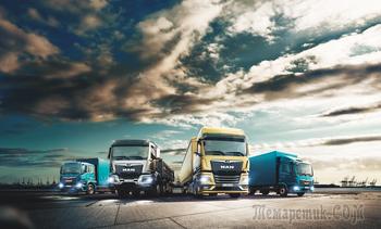 Новые грузовики MAN – российским транспортникам