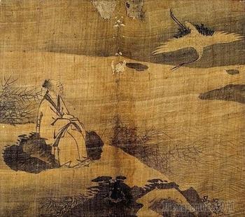 Корейская живопись. Хо Джу - Ho Ju  (허주). (1581-?)