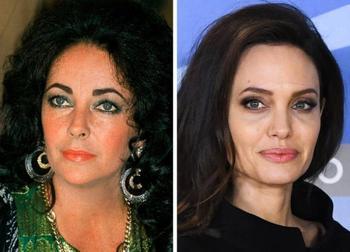 Фото знаменитостей одного возраста, но из разных поколений