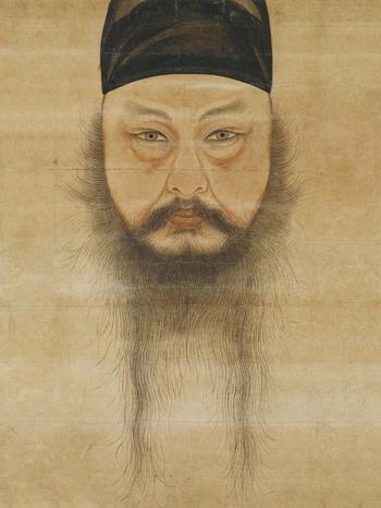 Корейская живопись. Юн Дусо - Yoon Doo-seo (윤두서, 尹斗緖) (1668-1715). Корея периода Чосон