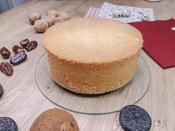 Рецепт бисквита из 3 ингредиентов - проще не бывает