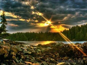 Стремительный поток любви твоей земной...