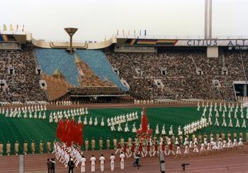 Живые картины Московской Олимпиады 1980