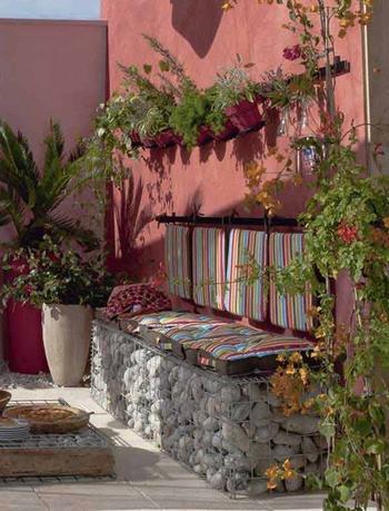 Идеи садовых скамеек