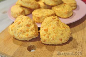 Сырные булочки Сконы