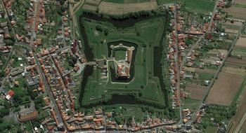 Антропогенные ландшафты Германии: вид из космоса