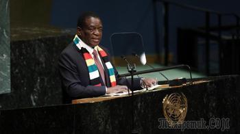 Африканцы жгут: зачем глава Зимбабве приехал в Россию