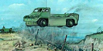 «Атомный монстр», прыгающий разведчик и шаротанк: топ-10 самых необычных бронемашин в истории