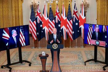 США, Британия и Австралия создали альянс. Франция обиделась, Германию не взяли