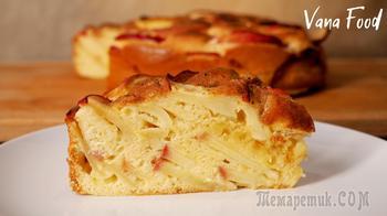 Изумительный яблочный пирог, который тает во рту!