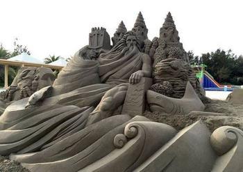 Ожившая сказка: невероятные скульптуры из песка от японского мастера Тосихико Хосака