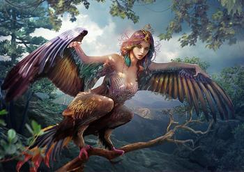 Птица Сирин в славянской мифологии: прекрасная вестница несчастий
