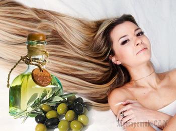 Маски для волос из оливкового масла: рецепты, польза, применение