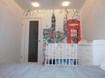 Моя спальня: Лондон и колыбель