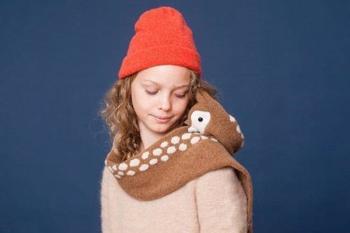 Сказочные шарфы от Нины Фёрер