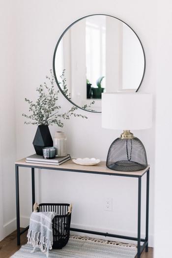 Чёрно-белые идеи домашнего декора