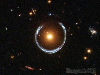 10 удивительных галактических явлений