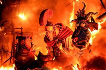День Огня в Валенсии