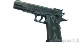 Borner Power Win 304 — пневматическая копия американского армейского Colt M 1911