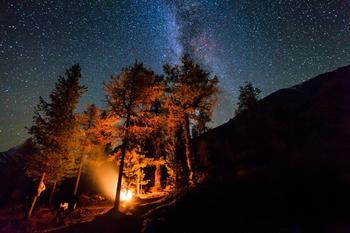 Миллионы звезд над Алтаем