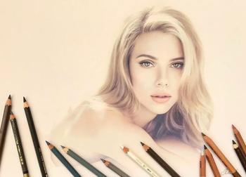 Гиперреалистичные рисунки цветными карандашами от Лены Литвиной