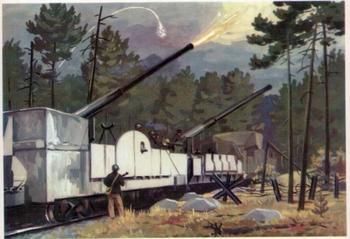 Железнодорожный дредноут. Бронепоезд «Балтиец»