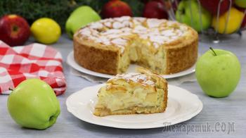Цветаевский заливной яблочный пирог нереально вкусный!