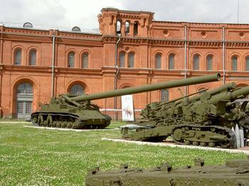 Самая большая пушка в мире — ТОП-5