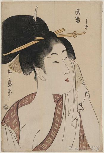 Шедевры мировой живописи... Японская гравюра