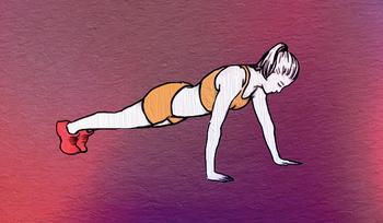 Убираем жир с подмышек: 3 упражнения