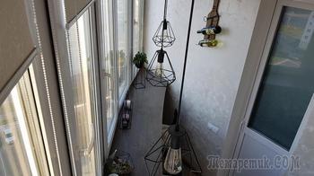 Зона отдыха и мастерская. Минчанин преобразил свой балкон, затратив 4000 рублей