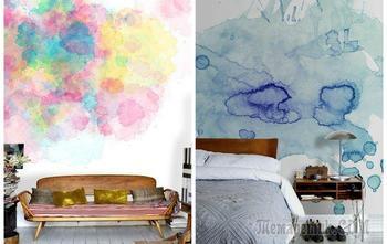 Необычная покраска стен: 20 неожиданных способов преобразить пространство