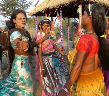 Люди среднего рода — индийская каста неприкасаемых
