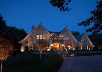 Традиционный дом из классики и переходного стиля в Миннесоте от Martha O'Hara Interiors