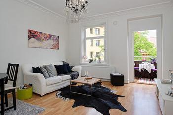 Дизайн интерьера квартиры 40 м.2