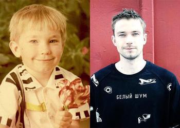 Российские звезды мужчины: тогда и сейчас
