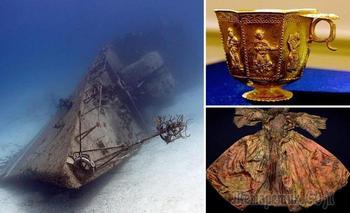 Редкие артефакты, которые были найдены на затонувших кораблях