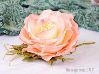 Цветы из фоамирана: мастер класс