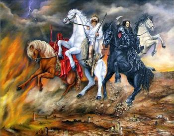 4 всадника Апокалипсиса и их имена