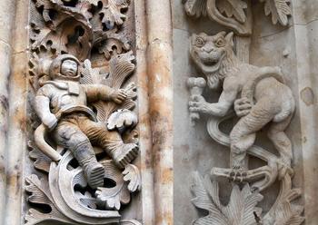 Загадочные сюрпризы, которые можно увидеть на великих памятниках архитектуры
