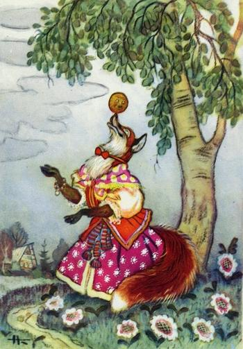 «Золотой век» детской иллюстрации: работы Николая Михайловича Кочергина
