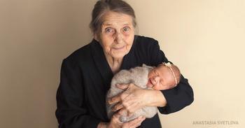 Ученые доказали, что внуки делают своих дедушек и бабушек здоровее
